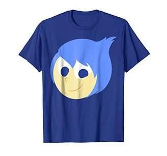 Disney Pixar Inside Out Joy Face Halloween Graphic T-Shirt