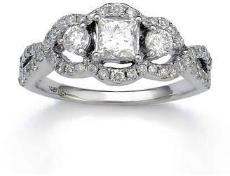 FINE JEWELRY LIMITED QUANTITIES 1 CT. T.W. Diamond 14K White Gold Engagement Ring