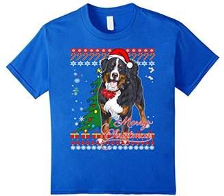 Bernese Mountain Dog Ugly Christmas Sweater Shirt