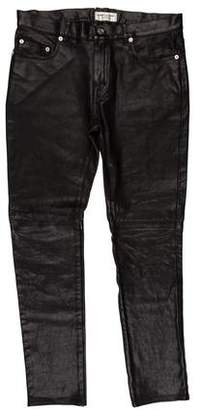 Saint Laurent Leather Pants