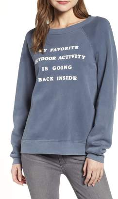 Wildfox Couture Sommers Going Back Inside Sommers Sweatshirt
