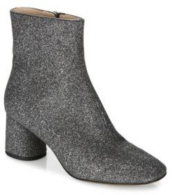 Marc JacobsMarc Jacobs Valentine Glitter Block-Heel Booties