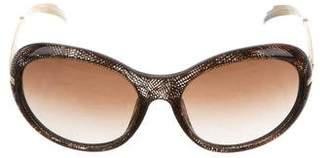 Chanel Gradient Round Sunglasses