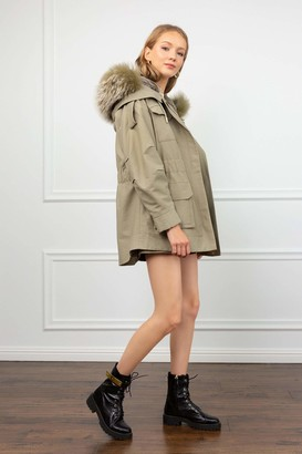 J.ING Hailey 3-in-1 Convertible Green Parka