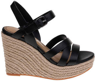 Splendid Billie Leather Wedge Sandal