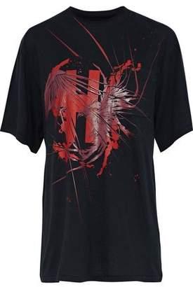 Haider Ackermann Awuna Printed Cotton-Jersey T-Shirt