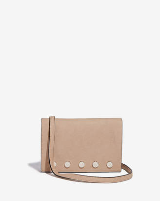 Express Large Stud Flap Bag