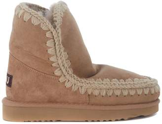 Mou Eskimo 18 Camel Sheepskin Ankle Boots