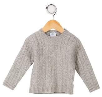 CZ by Carolina Zapf Girls' Cable-Knit Cashmere Sweater