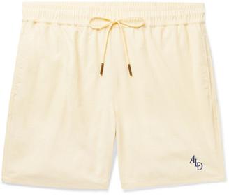 Leon Aimé Dore Slim-Fit Logo-Embroidered Nylon Drawstring Shorts