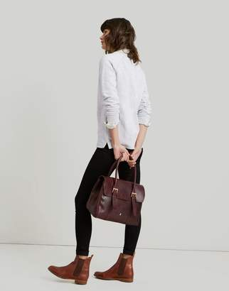 Joules OXBLOOD Durham Leather Tote bag Size One Size ff57073f345aa