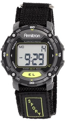 Armitron Men's Sport Black Round Watch