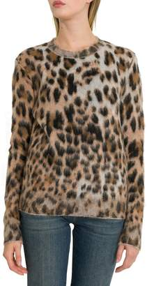 Saint Laurent Animal Print Pullover