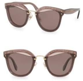 Rag & Bone Injected Women's 65MM Irregular Sunglasses