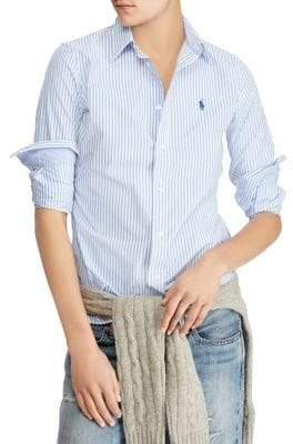 Polo Ralph Lauren Stretch Slim Striped Shirt