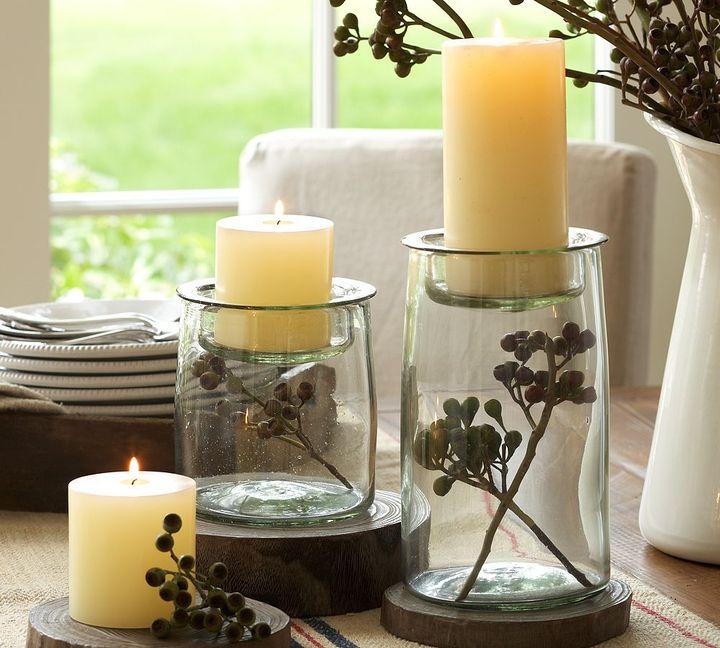 Glass Display Pillar Holder