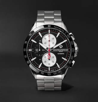 Baume & Mercier Clifton Club Indian Legend Tribute Chief Chronograph 44mm Stainless Steel Watch