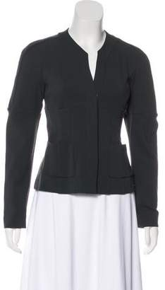 Narciso Rodriguez Wool-Blend Button-Up Jacket w/ Tags