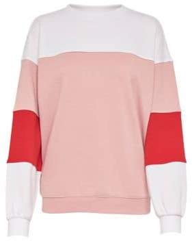Only Colourblock Crew Neck Sweater