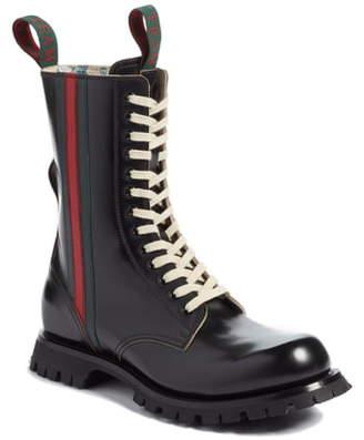 Gucci Arley Tall Web Boot