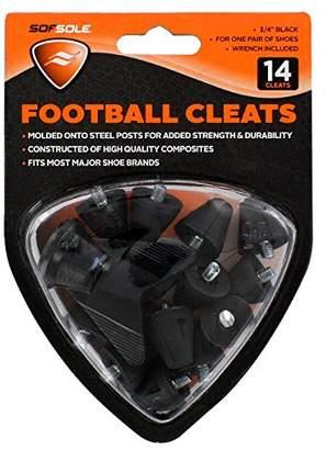 Sof Sole Nylon Football Cleat ()