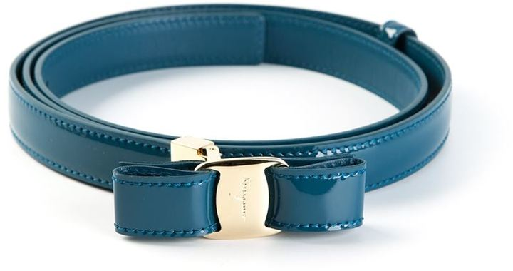 Salvatore Ferragamo bow buckle belt