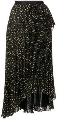 Philosophy di Lorenzo Serafini floral pleated skirt
