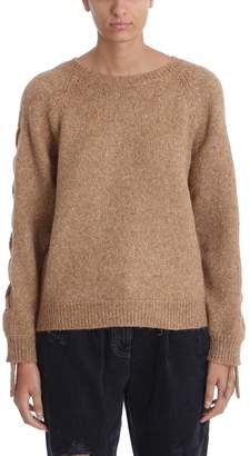 IRO Mystic Camel Wool Sweater Knit Pullover
