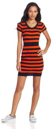 U.S. Polo Assn. Juniors Striped Sweater Dress