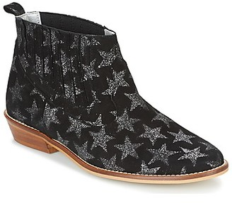 Ippon Vintage GOOD SKY women's Mid Boots in Black
