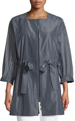 Lafayette 148 New York Stephania Empirical Tech Cloth Jacket, Plus Size