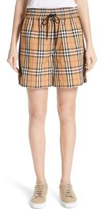 Burberry Dovemoore Cotton Shorts