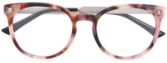 Gucci round frame glasses
