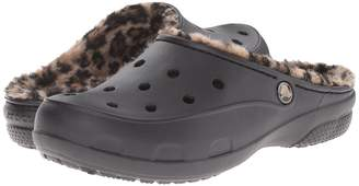 Crocs Freesail Loeopard Lined Clog Women's Shoes