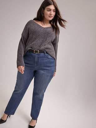 Curvy Fit Straight Leg Jean - d/C JEANS
