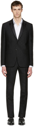 Givenchy Black Jacquard Tuxedo $2,960 thestylecure.com