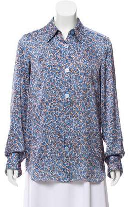 Acne Studios Printed Button-Up Top