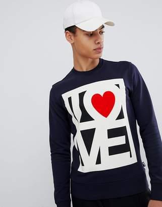 Love Moschino Love Logo Sweater