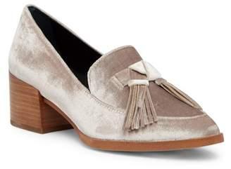 Rebecca Minkoff Edie Tassel Block Heel Loafer