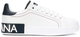 Dolce & Gabbana Portofino logo sneakers