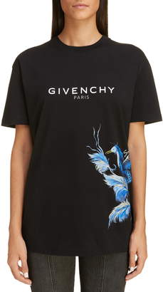 Givenchy Logo Graphic Crewneck Tee
