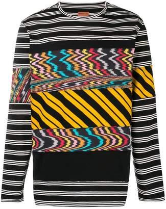 Missoni distorted stripe sweater