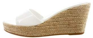 Prada Slide Espadrille Wedges