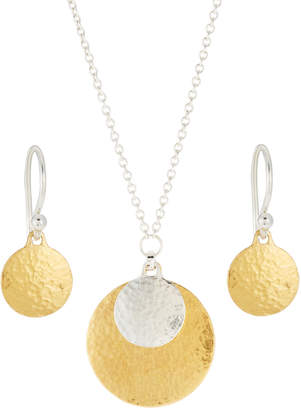 Gurhan Lush Double Drop Earring & Necklace Boxed Set
