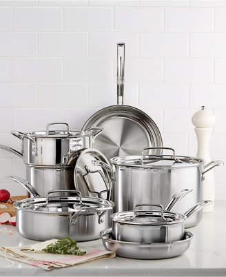 Cuisinart (クイジナート) - Cuisinart Multiclad Pro Tri-Ply Stainless Steel 12 Piece Cookware Set
