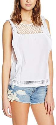 New Look Women's Millie Crochet Sleeveless Top