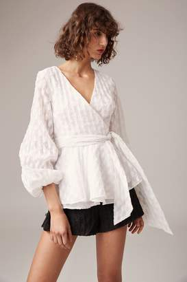 C/Meo COLLECTIVE PRAISES LONG SLEEVE TOP ivory