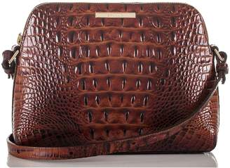 Brahmin Mini Syndey Embossed Leather Crossbody Bag