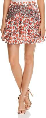 Iro . Jeans IRO.JEANS Secrets Printed Mini Skirt