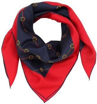 Gucci (グッチ) - GUCCI シルクツイル プリントスカーフ